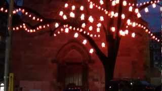 VIDEO : BIBI's Hell, it's Here - Trees and Lights 2012 - Geneva, Switzerland