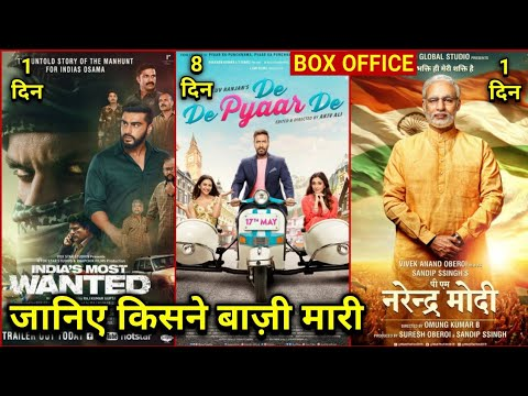 PM Narendra Modi Box Office Collection, De De Pyar De Collection, India's Most Wanted Collection,