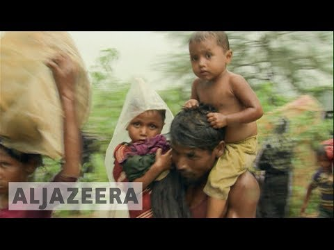 Rohingya refugees say they fear being sent back to Myanmar