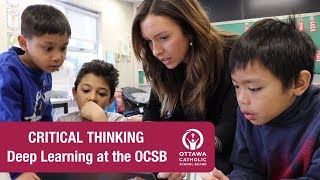 Critical Thinking (Elementary) - Deep Learning