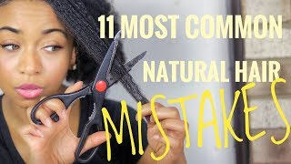 11 Things You Should NEVER Do To Your Natural Hair