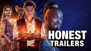 For a soulless corporate remake cash grab - not bad! ► ►Become a Screen Junkie! ►► https://fandom.link/SJSubscribe  ►►Watch The Honest Trailers Commentary Tomorrow at 10 AM PDT Here on Screen Junkies►  Honest Trailers | Aladdin (2019) Title Design by Robert Holtby Epic Voice Guy: Jon Bailey Produced by Spencer Gilbert, Dan Murrell, Joe Starr, & Max Dionne Written by Spencer Gilbert, Joe Starr, Dan Murrell, Danielle Radford & Lon Harris Edited by Kevin Williamsen  #HonestTrailers