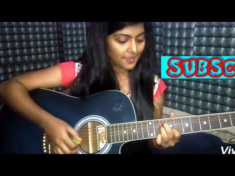 Dekh Lena Tum Bin 2 Arijit Singh Female Cover Guitar Chords Preety ...