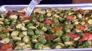 Maple Bacon Brussels Sprouts - THANKSGIVING