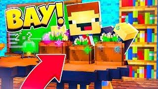 НУБ ВЫРАЩИВАЕТ КУСТЫ! #2 ШКОЛА МАЙНКРАФТА! Школьные Приключения в Майнкрафт | Мультик Minecraft
