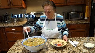 Italian Grandma Makes Lentil Soup