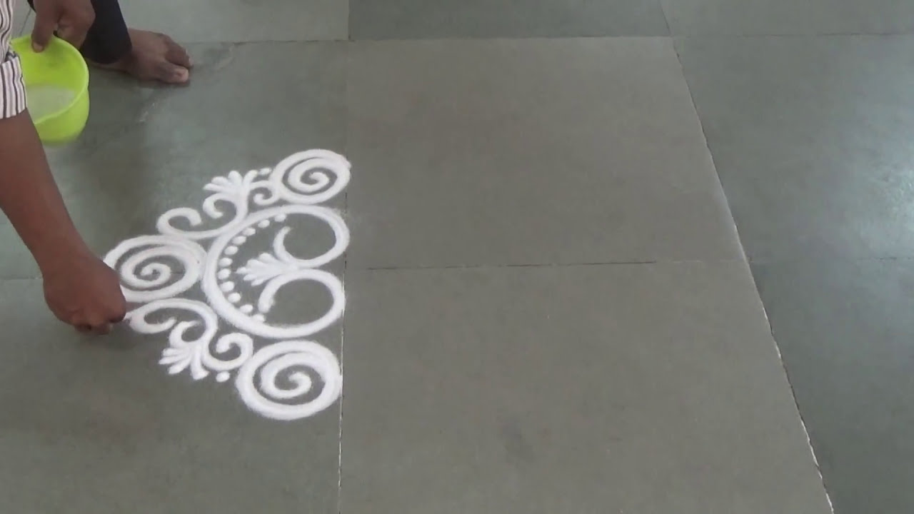 small rangoli design by kshama bade