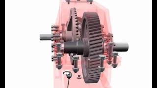Autodesk Inventor - Two Steps Gear Box