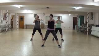 """Imma Do It"" J Moss - Christian Dance Fitness Routine - PraiseFIT - ZUMBA Workout - FIT Force 3"