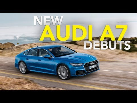 2019 Audi A7 First Look | New Audi A7 Debuts