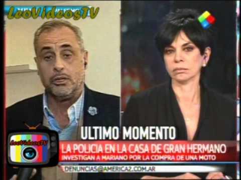 Rial en America noticias habla del caso Mariano GH 2015 #GH2015 #GranHermano