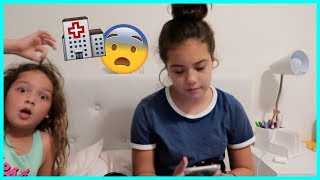 MY FRIEND IS IN THE HOSPITAL !!! WHY ??? | SISTERFOREVERVLOGS #446
