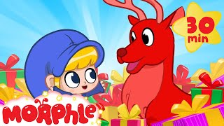 Oh No! Morphle's Christmas Gift! My Magic Pet Morphle | Cartoons For Kids | Morphle TV | BRAND NEW