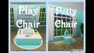 Bloxburg | Baby Furniture Tutorial | Speed Build