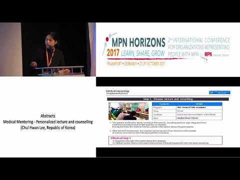 Medical Mentoring Personalized lecture and counselling - MPN Horizons 2017