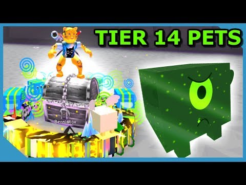 BUYING NEW TIER 14 PETS IN ROBLOX PET SIMULATOR *Moon Update*