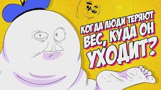 Когда Люди Теряют Вес, Куда Он Уходит? (Русский Дубляж) - Super Planet Dolan