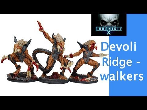 Chronicle X Painting: Devoli Ridgewalkers