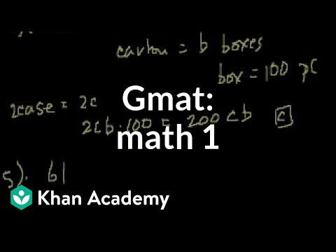 A thumbnail for: GMAT