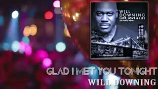 Will Downing ~ Glad I Met You Tonight