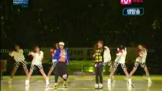 CL and Minzy - Please Don't Go Live [11.21.09]