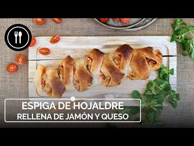 ESPIGA DE HOJALDRE rellena de jamón y queso | Instafood