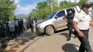 Violento desalojo en Estor Izabal