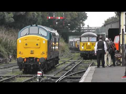 The Bodmin and Wenford Diesel Gala 24th September 2016