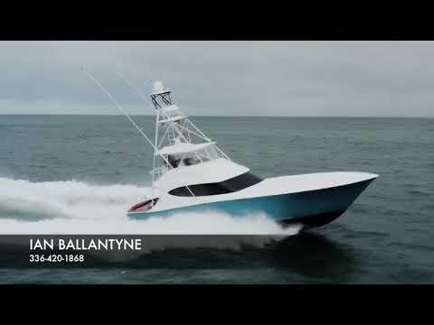 Hatteras GT59 video