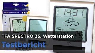 TFA Dostmann Funkwetterstation Spectro 35 - 1089 im Test