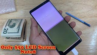 Restoration Samsung Galaxy Note8 Cracked Screen   Restoration Smartphone