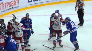 СКА-Локомотив 25.02.16 - Драка в конце матча