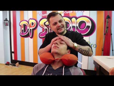 ASMR MASSAGE in my *NEW* Hair Saloon | Head Massage, Scalp Massage, Back Massage