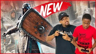 For Honor Vortiger Hype! New BLACK PRIOR Fighter! - For Honor Breach Gameplay