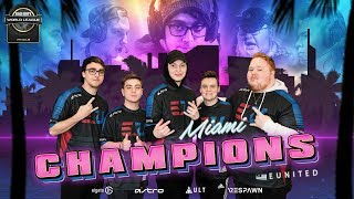 Clayster's EUNITED Win CWL Miami!! | Pro League Playoffs Drama | CoD News