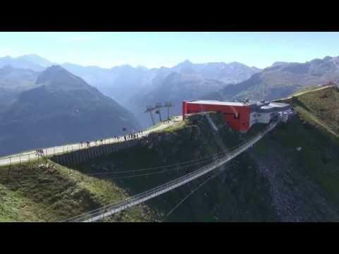 Video von der Hängebrücke