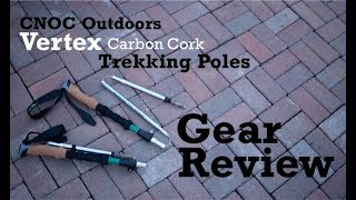 CNOC Vertex Carbon Cork Trekking Pole Review