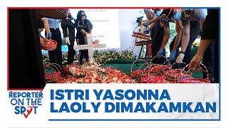 Jenazah Almarhum Istri Menkumham Yasonna Laoly Dimakamkan di San Diego Hills Karawang
