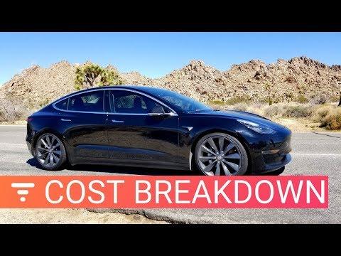 Tesla Model 3 Cost Breakdown – How Much I've Spent in 6 Months