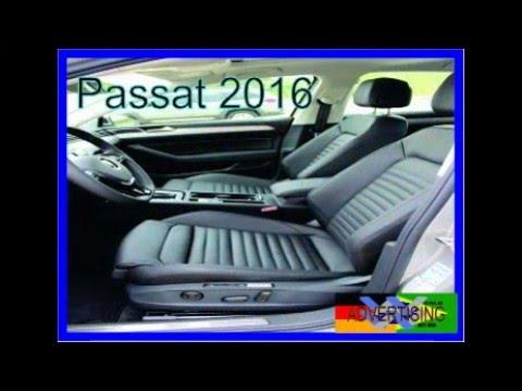 VOLKSWAGEN REVELA NOVO PASSAT 2016 modelo icôni da Volkswagen.