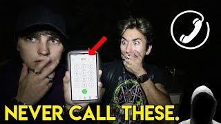 CALLING TERRIFYING PHONE NUMBERS pt. 3 (STALKER) | Colby Brock