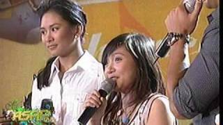 "Charice sings ""It Can Only Get Better"", HQ - 05/04/08"