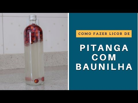 Licor de Pitanga c/ Baunilha