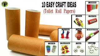 10 Easy Craft Ideas From Toilet Roll Papers - Recycle   Upcycle   DIY - 821