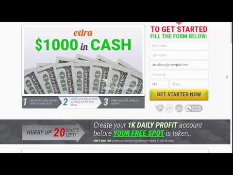 Auto trading binary 1K Daily Profit