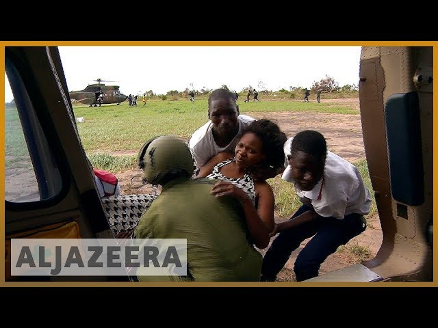 ???????? 'Women, babies trapped in trees' after deadly Mozambique storm | Al Jazeera English