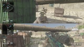 MultiCOD Clasico #224 Call of Duty Modern Warfare Remastered Beach Bog - DPE Multiplayer Gameplay