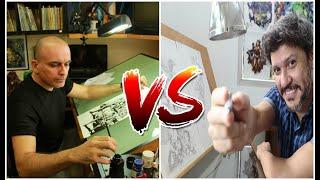 QUEM É O MELHOR? Mike Deodato Jr VS Ivan Reis