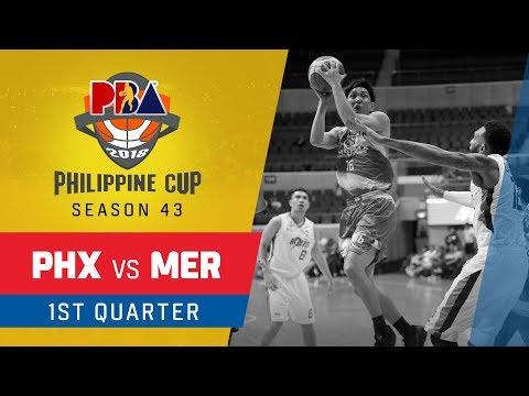 Phoenix vs. Meralco – Q1 | PBA Philippine Cup 2018