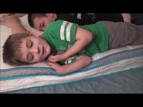 LINENSPA 8″ HYBRID MATTRESS UNBOXING FROM AMAZON